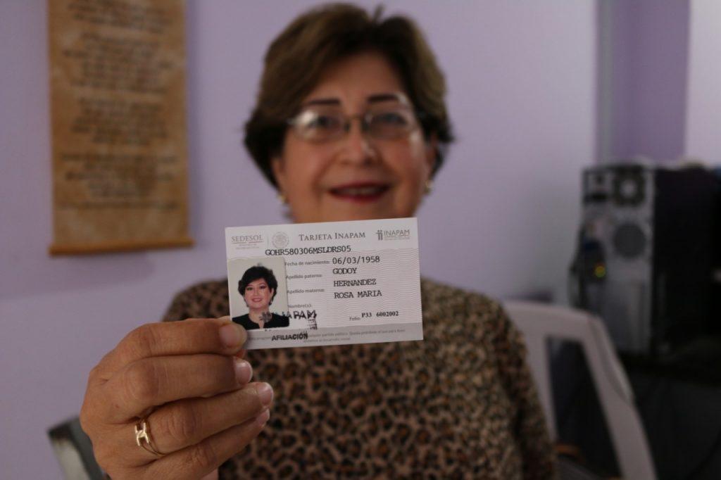 Todos los mexicanos mayores de 60 años pueden tramitar su tarjeta INAPAM.