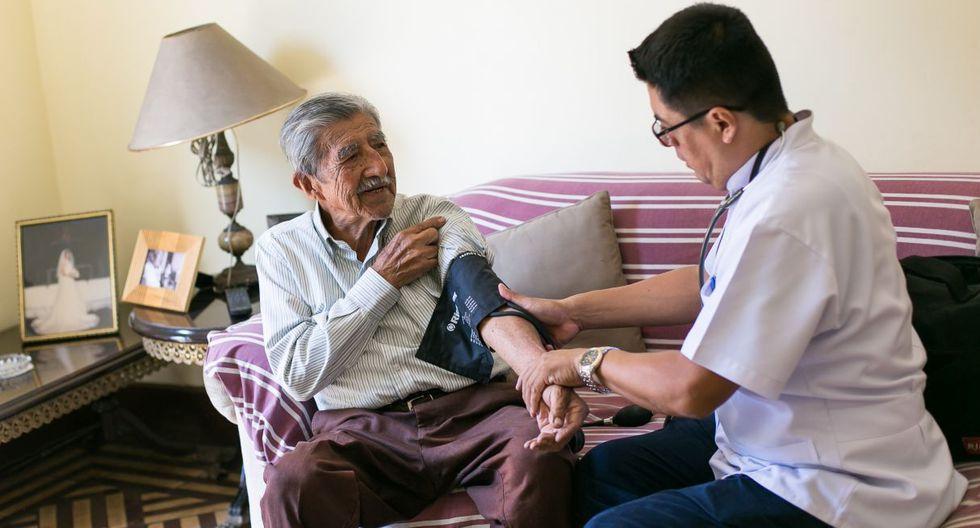 Atención Médica a Domicilio para Adultos Mayores
