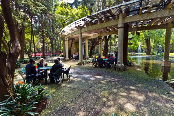 El jardín de los adultos mayores fue inaugurado el 24 de septiembre de 1986.