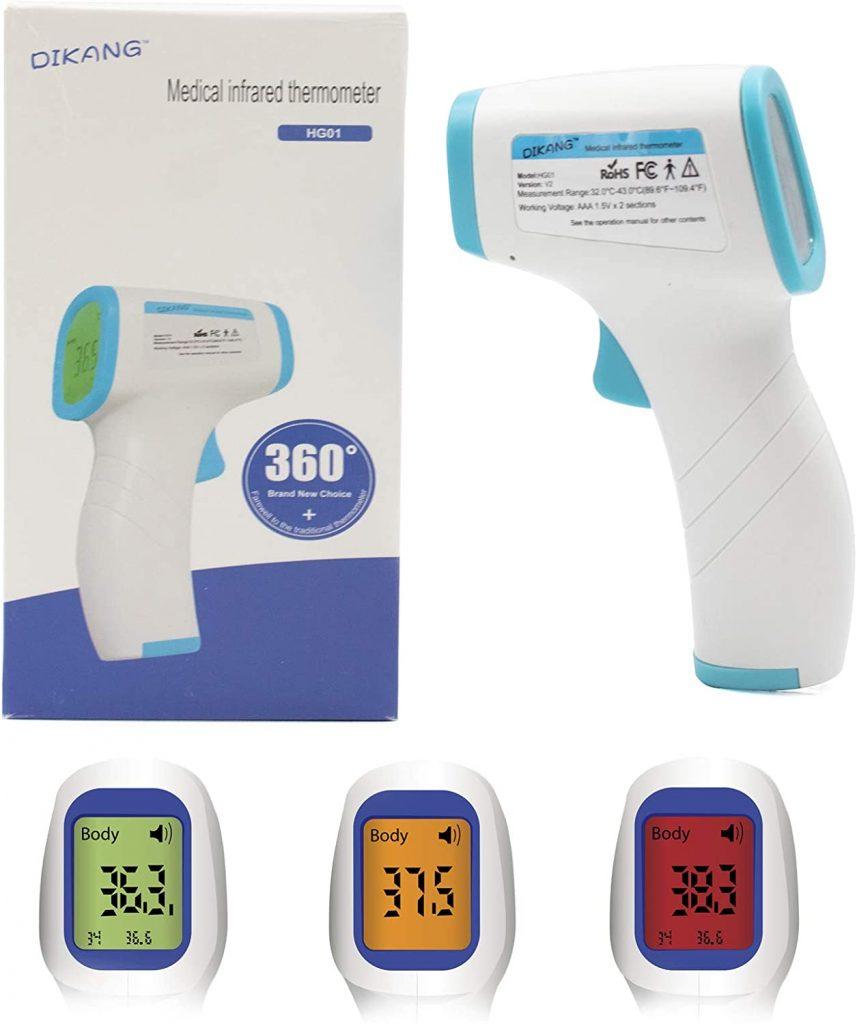 Termómetro infrarrojo digital Sagkee