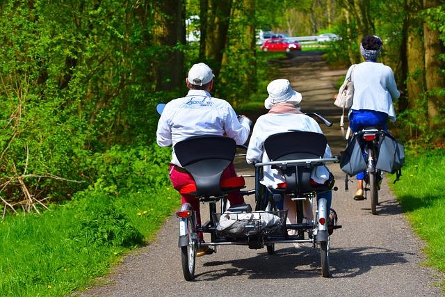 Ciclismo para adultos mayores
