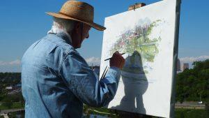 imagen de Pintura para Adultos Mayores