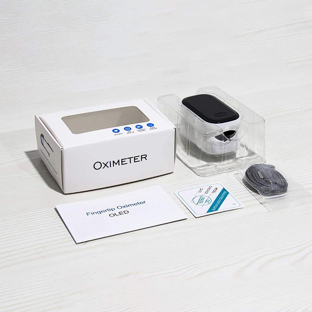 NAZ - Oxímetro de Pulso OLED